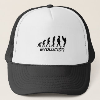 Rock and Roll Evolution Trucker Hat