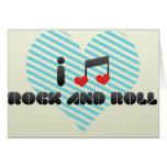 Rock And Roll fan Card