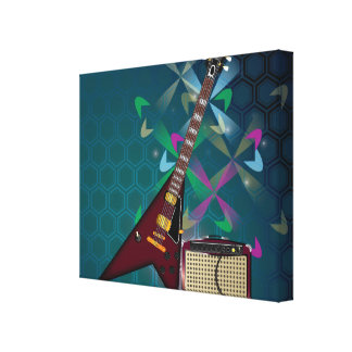 Rock and Roll Gallery Wrap Canvas