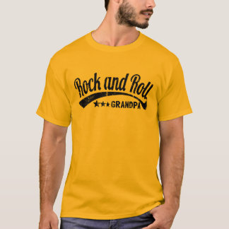 rock and roll grandpa T-Shirt