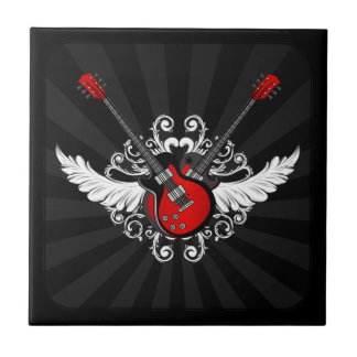 Rock and Roll Guitars - tile
