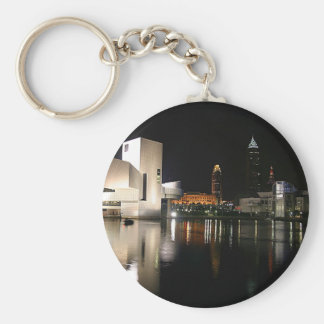 Rock and Roll Hall of Fame Cleveland Ohio Key Ring