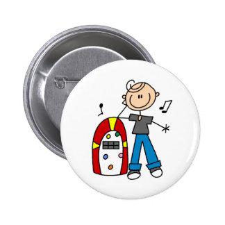 Rock And Roll Juke Box Button