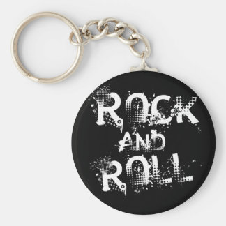 Rock and Roll Keychains