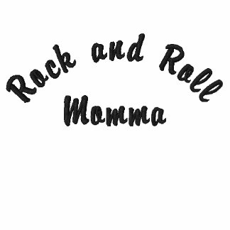 Rock and Roll Momma Embroidered Jacket