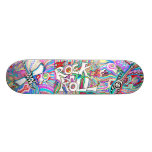 Rock and Roll Skateboard