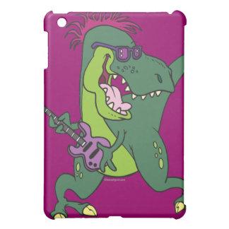 rock and roll t-rex cartoon iPad mini covers