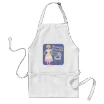 Rock and Roll Tambourine Fifties Housewife Standard Apron