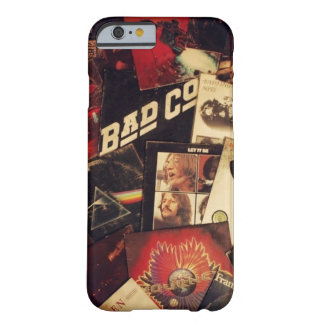 Rock and Roll Vinyl Collage Case Barely There iPhone 6 Case