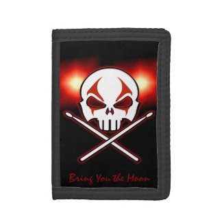 Rock and Roll Wallet Heavy Metal Drummer Wallet