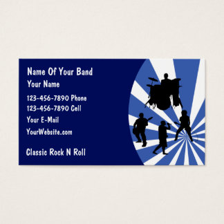 178 Rock Band Business Cards and Rock Band Business Card