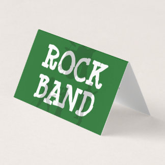 Rock Band Cool Business Card
