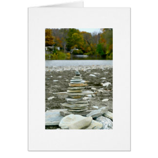 Rock Cairn Greeting Cards
