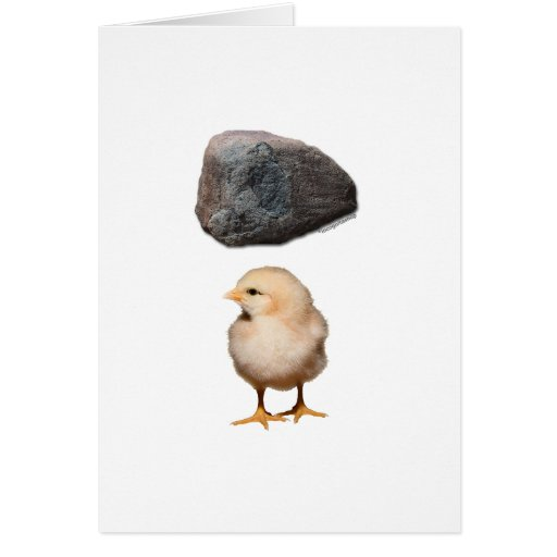 Rock + Chick Card