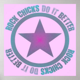 Rock Chicks Do It Better - Poster