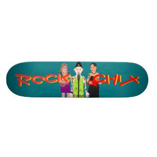 Rock Chix Skateboard