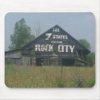 Rock City Barn Mouse Pad