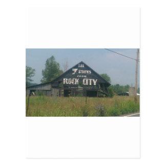 Rock City Barn Postcard