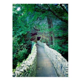 Rock City Path Postcard