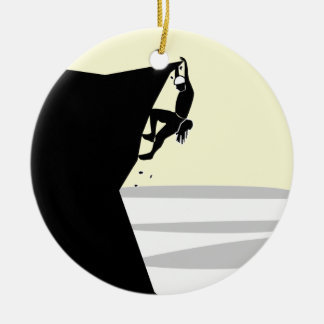 Rock Climber 1 Christmas Ornament