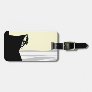 Rock Climber 1 Luggage Tag