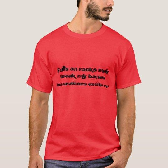 rock climber 2 T shirt