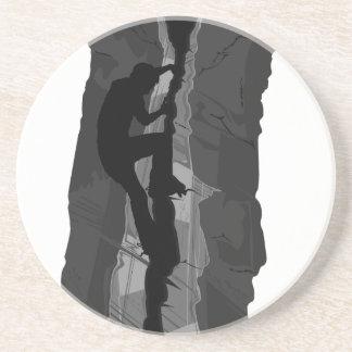 Rock Climber Bouldering Coaster