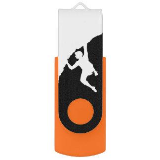 rock climber Swivel USB drive Swivel USB 2.0 Flash Drive