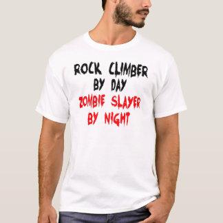 Rock Climber Zombie Slayer T-Shirt