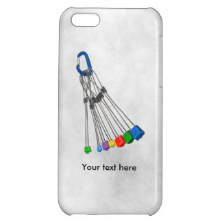 Rock Climbers Natual Protection Equipment iPhone 5C Covers