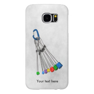 Rock Climbers Natual Protection Wires And Crab Samsung Galaxy S6 Cases