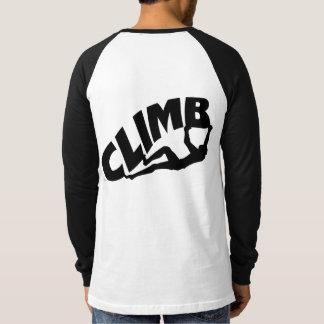 Rock Climbing Bouldering Climber T-Shirt