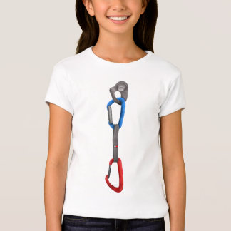 Rock Climbing Hanger with Quick Draw Tshirts