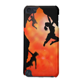 rock climbing in the sun iPod Touch 5g case