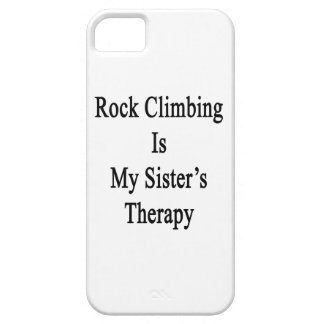Rock Climbing Is My Sister's Therapy iPhone 5/5S Cover