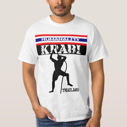 Rock Climbing Karbi Thailand T-Shirt