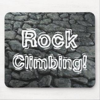 Rock Climbing! Mouse Pad