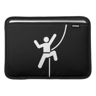 Rock Climbing Pictogram MacBook Air Sleeve