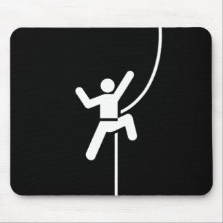Rock Climbing Pictogram Mousepad