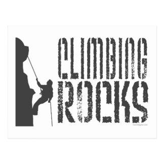 Rock Climbing Postcard