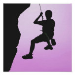 Rock Climbing Posters