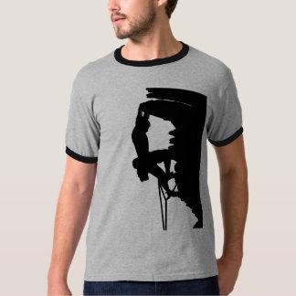 Rock Climbing Ringer T T-Shirt