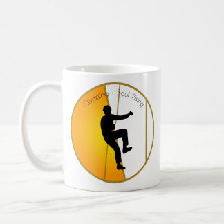 Rock Climbing Soul Rising Coffee Mug
