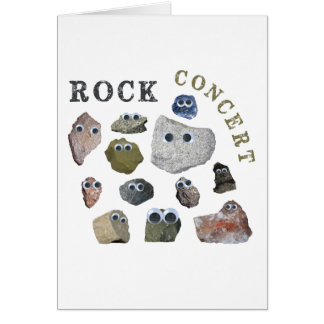 Rock Concert Card