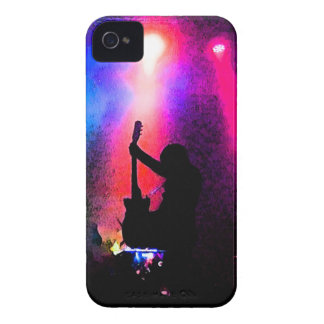 Rock Concert with Guitarist and Stage Lighting iPhone 4 Case-Mate Cases