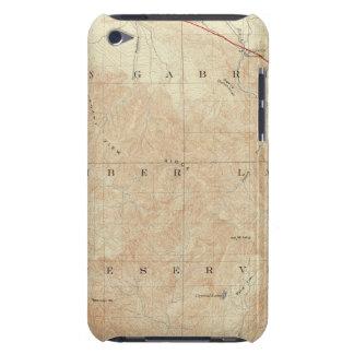 Rock Creek quadrangle showing San Andreas Rift iPod Touch Case