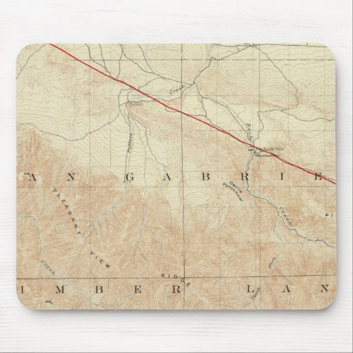 Rock Creek quadrangle showing San Andreas Rift Mousepads