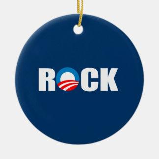 ROCK CHRISTMAS ORNAMENTS