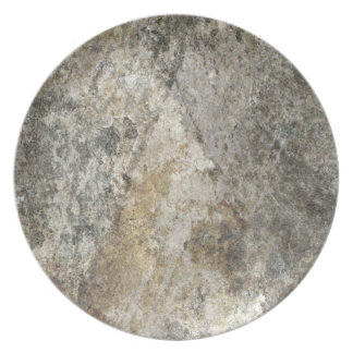 Rock Face Party Plates