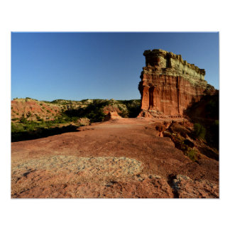 Rock Fin in Palo Duro Canyon Poster
